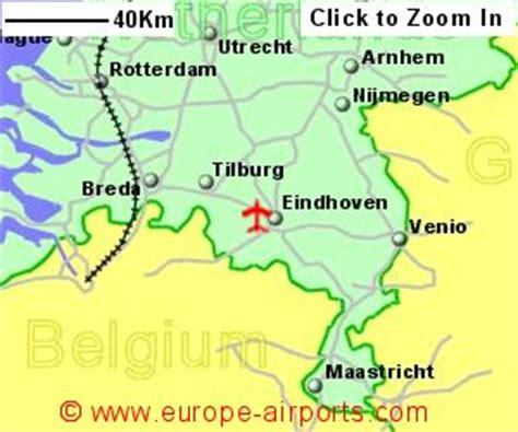 netherlands map airports eindhoven airport netherlands ein guide flights