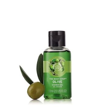 Moringa Shower Gel 60ml olive shower gel 60ml the shop nz