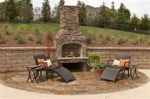 Outdoor Stacked Fireplace With Hearth Fireplaces Decoration Build A Country Stacked Dry Stone Fireplace