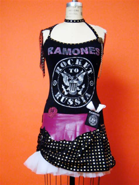 Glam Rock Product 5 by Dresses Ramones Glam Rock Cocktail Tribute