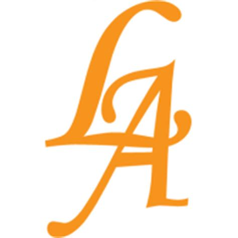 A L by L A Signs Logo Vector Ai Free