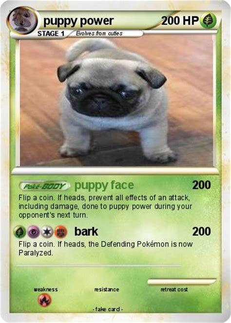 puppy power pok 233 mon puppy power 18 18 puppy my card