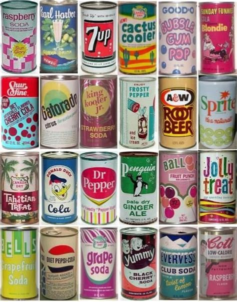 vintage dosen soda cans of the 1960 s vintage part 2