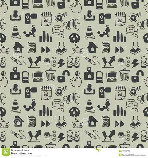 seamless icon pattern seamless web icon pattern stock photography image 16795422