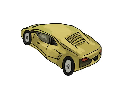 car lamborghini drawing 4 ways to draw a lamborghini wikihow