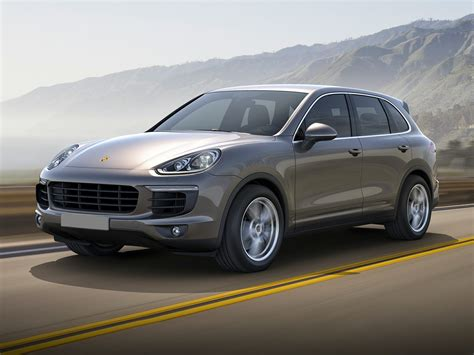 new porsche 2017 new 2017 porsche cayenne price photos reviews safety