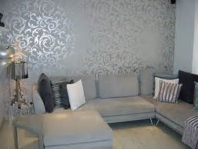 Livingroom Wallpaper Grey Wallpaper Living Room Post On Brunch At