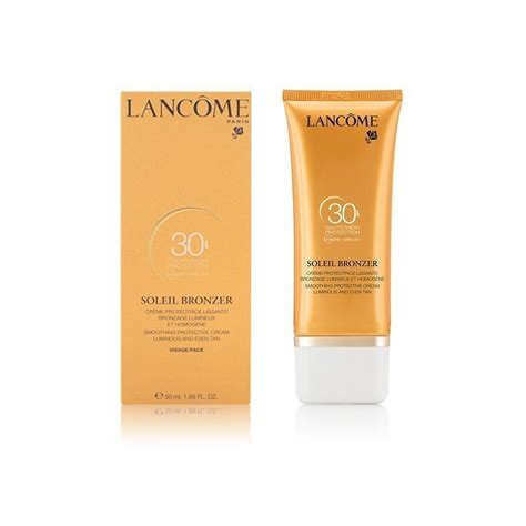 Lancome Sunblock lancome soleil bronzer creme protectrice spf30 50 ml
