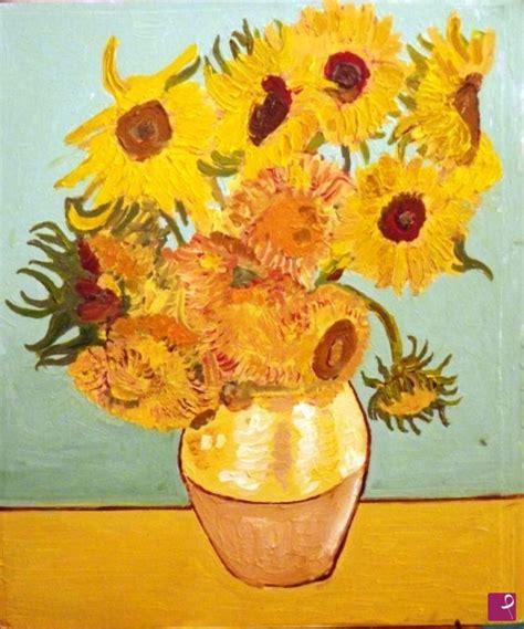 il vaso di girasoli vendita quadro replica d autore i girasoli di gogh