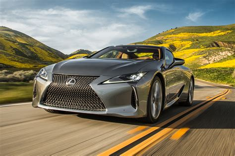 2018 lexus lc 500 and lc 500h test review