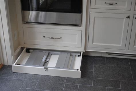 kitchen cabinet kick plate toe kick level storage for a step stool rs finds