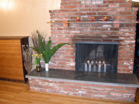 how to build a fireplace hearth pad