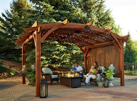 16x16 Gazebo Sonoma 1216 And 16 Pergola Redwood Pergolas Pergolas