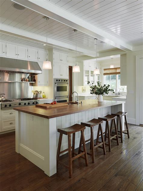 Off White Kitchen Cabinets   Cottage   kitchen   Taylor