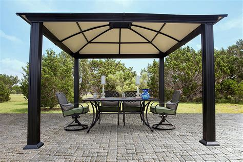 12x12 gazebo gazebo design interesting 12x12 hardtop gazebo aluminum