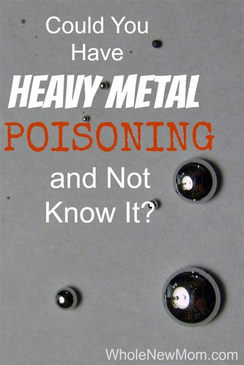 Detox Heavy Metal Poisoning by We And Mercury On