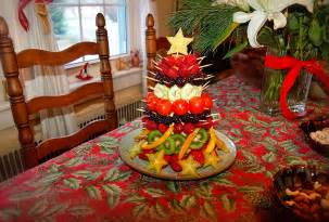 the queen s table holiday party edible fruit christmas tree