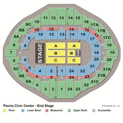 Peoria Civic Center Box Office by Vipseats Peoria Civic Center Tickets