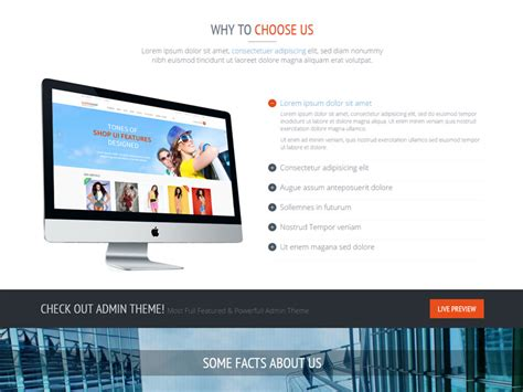 extremely responsive one page bootstrap template free download
