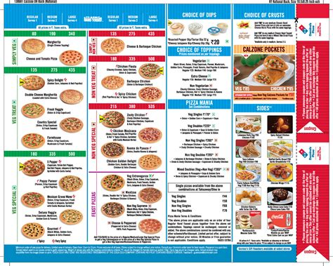Pizza Prices domino s margherita pizza marketing journal