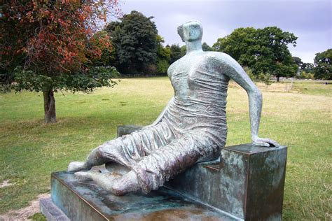 draped seated woman henry moore s old flo to return to east london apollo