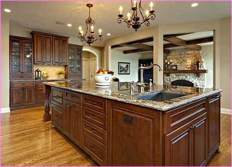 Kitchen Island With Sink And Cooktop Home Design Ideas Kitchen Island With Sink And Seating