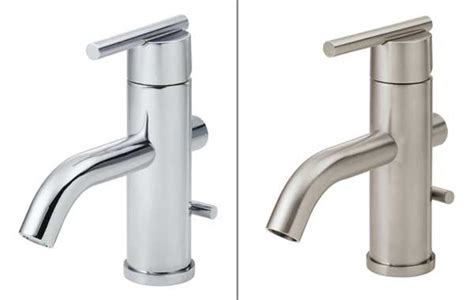 polished nickel vs polished chrome the gallery for gt brushed nickel finish vs chrome