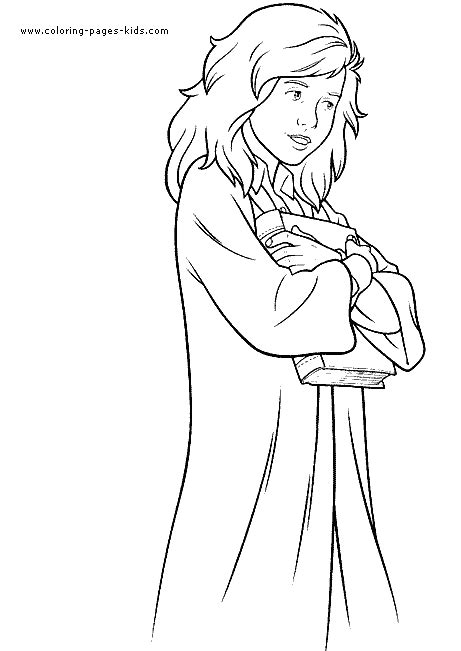 harry potter cartoon coloring pages free coloring pages of harry potter color pages
