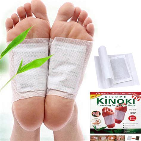 Newcomdigi 10pcs Unisex Detoxify Detox Foot Pads Health Care Directions by 10pcs Detox Foot Pads Patch Detoxify Toxin Adhesive