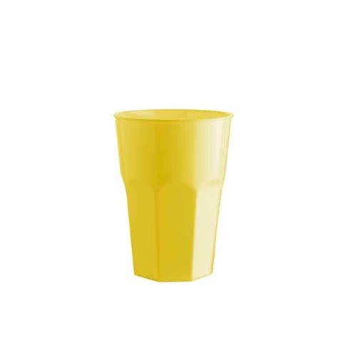Bicchieri In Polipropilene Bicchiere In Polipropilene Giallo Cl 35 328739