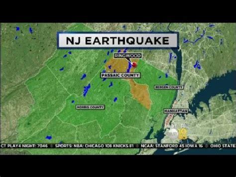 earthquake nj earthquake shakes nj youtube