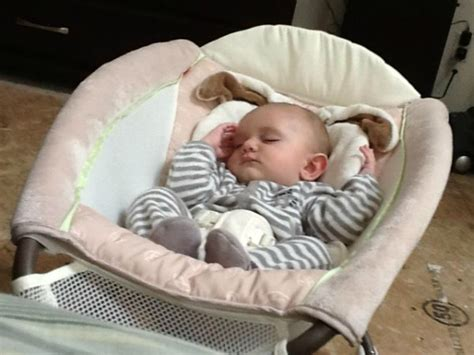 Baby Rocking Sleeper by Our Fisher Price Snugabunny Newborn Rock N