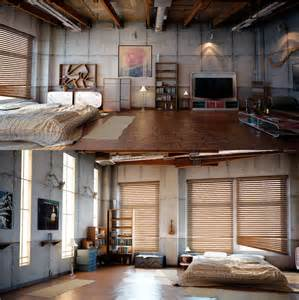 industrial apartments industrial apartment love living little pinterest
