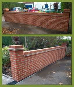 brick garden wall designs bhdreams com