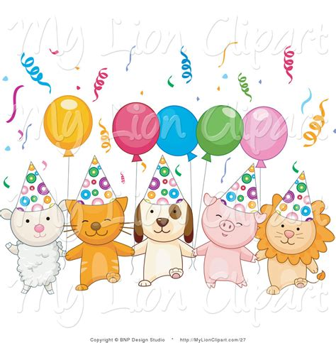 Celebration balloons clipart 40
