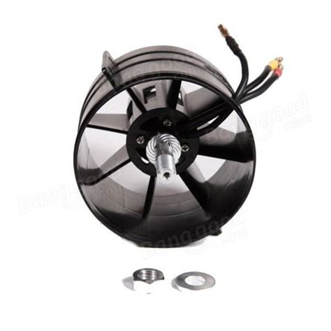 rc ducted fan engine fms 90mm 12 blades ducted fan edf with 3546 kv1900