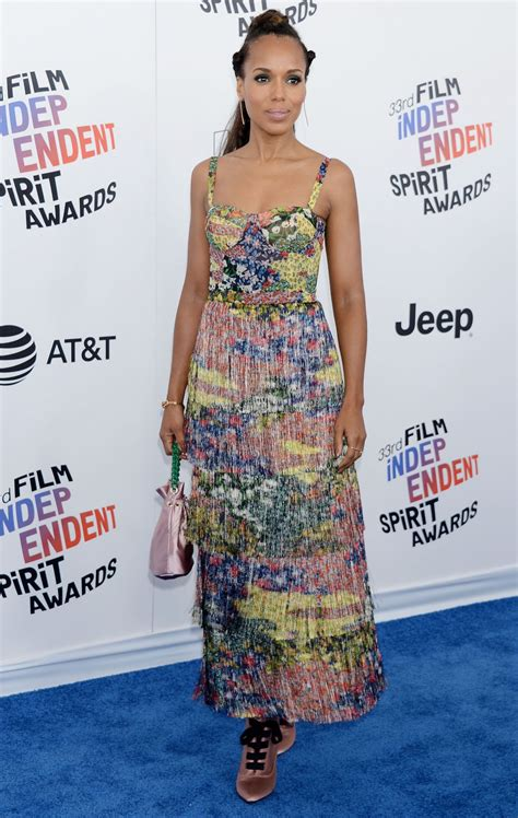 Independent Spirit Awards by Kerry Washington 2018 Independent Spirit Awards In