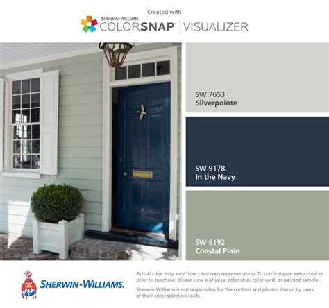 i found these colors with colorsnap 174 visualizer for iphone by sherwin williams silverpointe sw