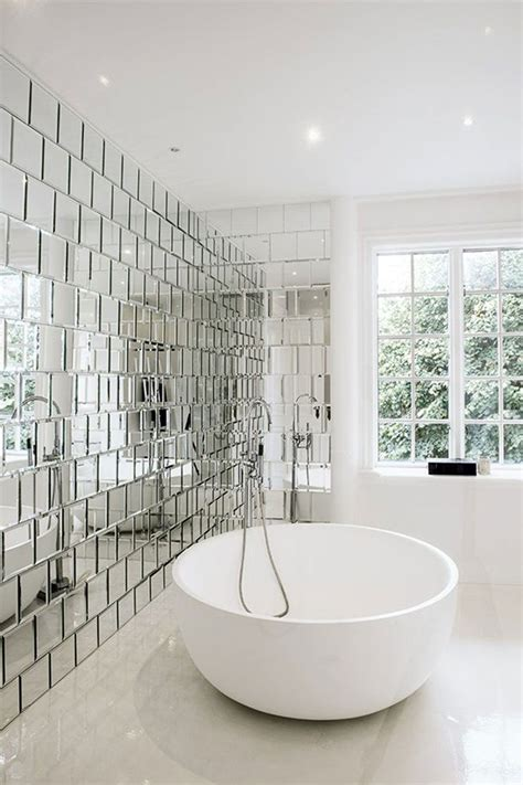 Mirrored Bathroom Tiles | sunday sanctuary mirror mirror oracle fox