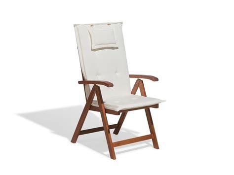 cuscini per sedie da esterno cuscino da esterno per sedia toscana beige beliani it
