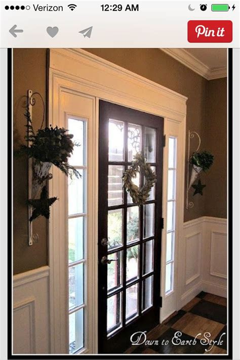 Crown Molding Idea For The Patio Door To The Backyard Or Front Door Crown Molding