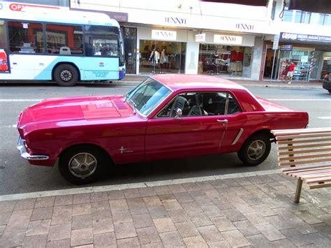 aussie mustang aussie parked cars 1965 ford mustang hardtop