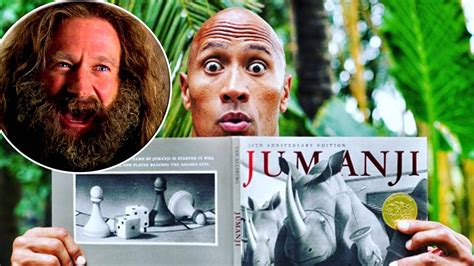 jumanji movie new new jumanji movie to honor robin williams youtube