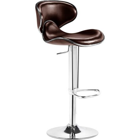 fly bar stool zuo modern furniture 300133 fly bar stool in espresso