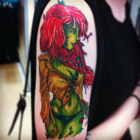 poison ivy tattoo poison by ivyisley on deviantart