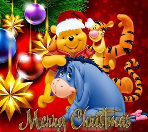 winnie  pooh christmas wallpaper desktop gallery