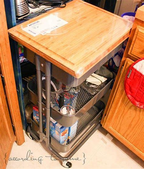 ikea cart latest the kitchen aid ikea cartkitchen with ikea raskog cart with aptitlig butcher block cutting board