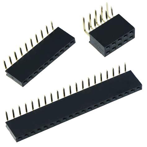1x20pin Header Right Angle Single Row Socket 2 54mm Pitch 2 54mm 0 1 quot pcb header socket right angle pins single