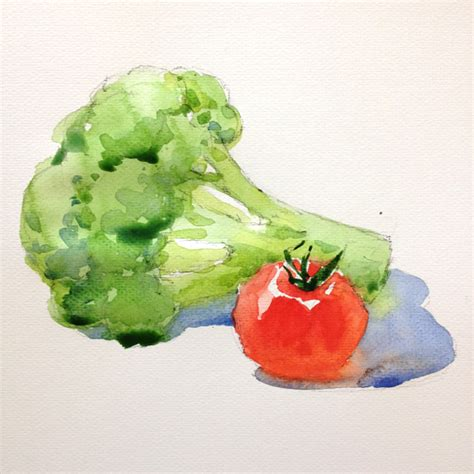 vegetables painting learn how to paint fruits and vegetables