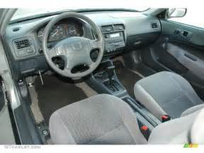 gray interior 1999 honda civic dx coupe photo